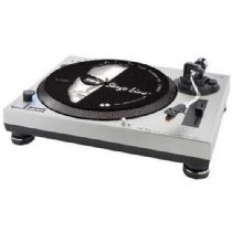 DJP-102/SI Plato giradiscos (tocadiscos) reproductor Hi-Fi estéreo Stage Line